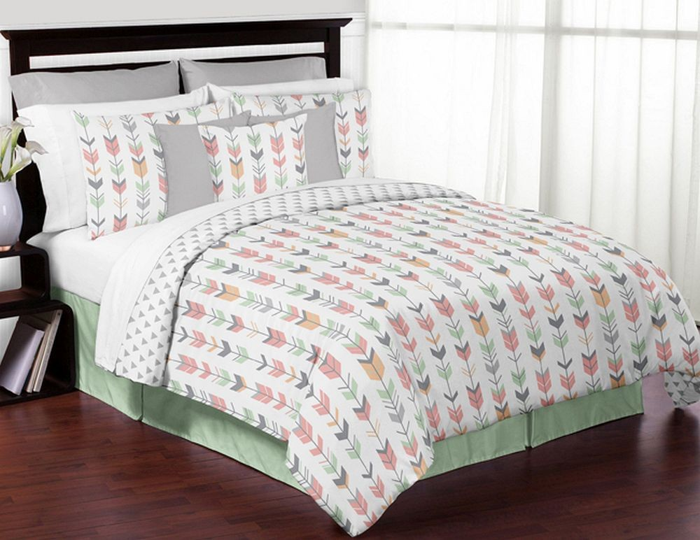 Coral Queen Comforter Set Deals