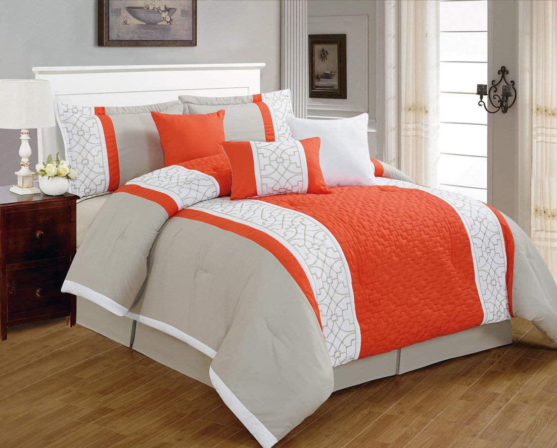 Coral Queen Comforter Set Sale