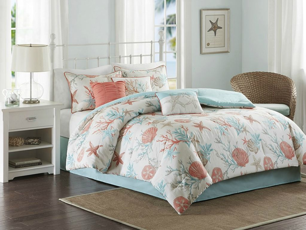 Coral Queen Comforter Set At Target