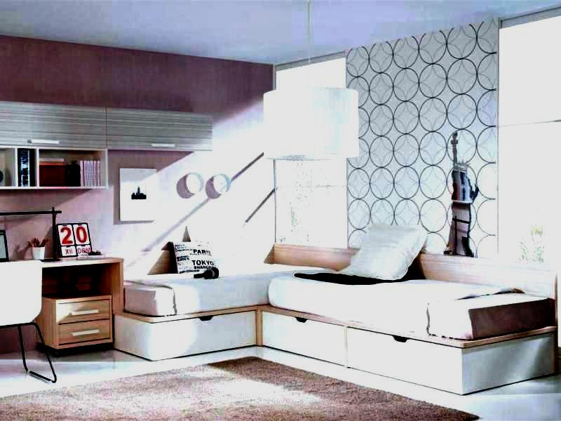 Corner Twin Beds With Storage For Small Spaces