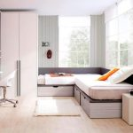 Corner Twin Beds With Storage Full