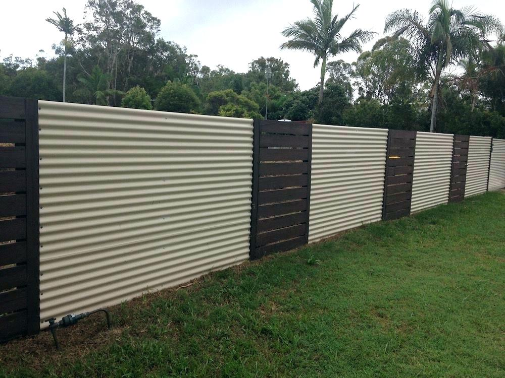 Image of: Cost of Metal Privacy Fence