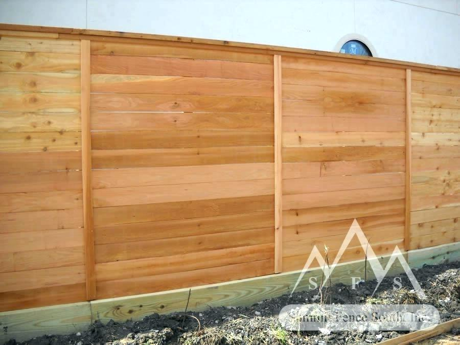 Picture of: Cost of Wood Fence Panels