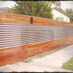 Cost of a Corrugated Metal Fence DIY