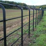 Country Metal Deer Fencing
