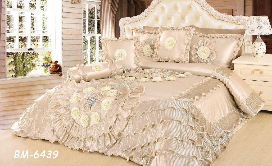 Cream Comforter Set King