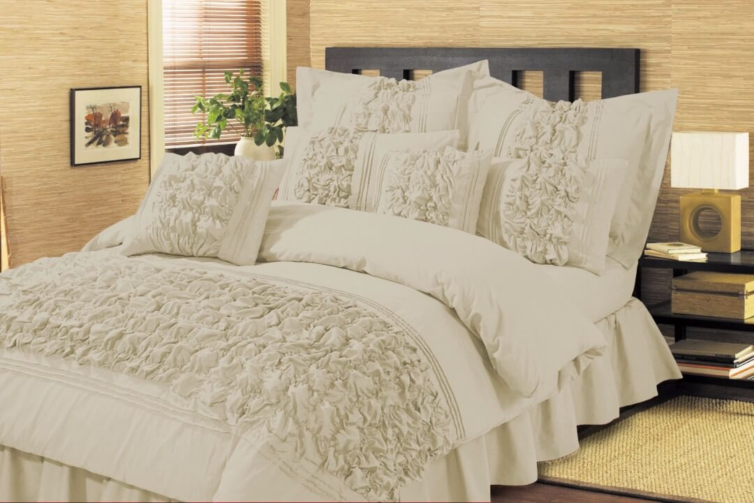 Cream Comforter Set Twin XL