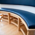 Curved Dining Bench Cushion