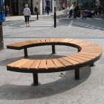 Curved Wooden Bench Shapes