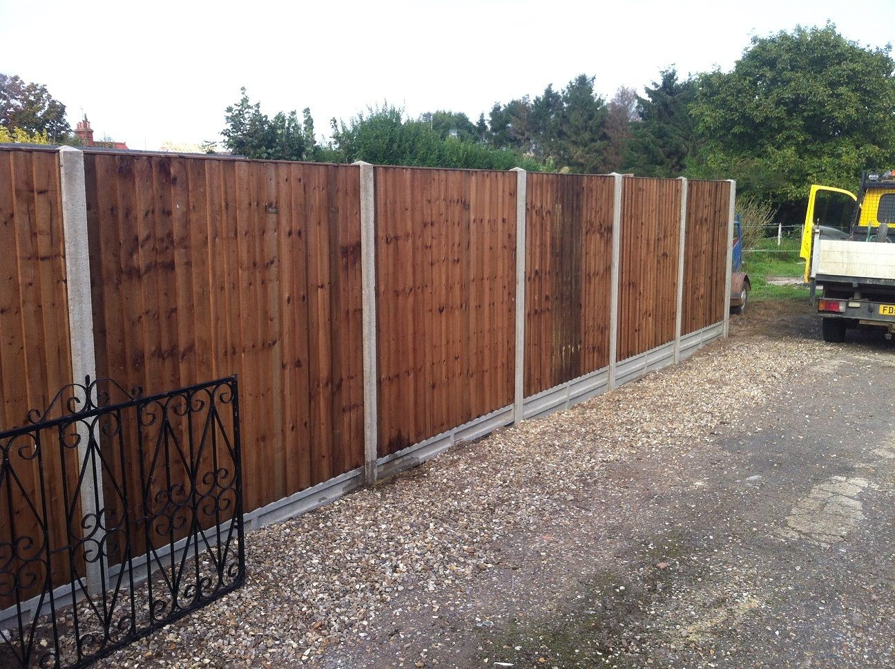 Picture of: Custom Board On Board Fence Panels