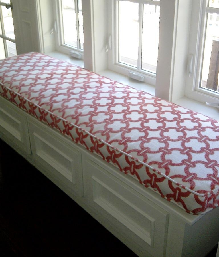 Picture of: Custom Indoor Bench Seat Cushions