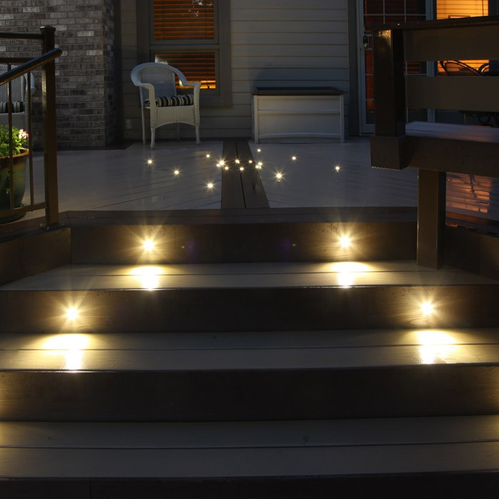 Picture of: Custom Led Step Lights Outdoor