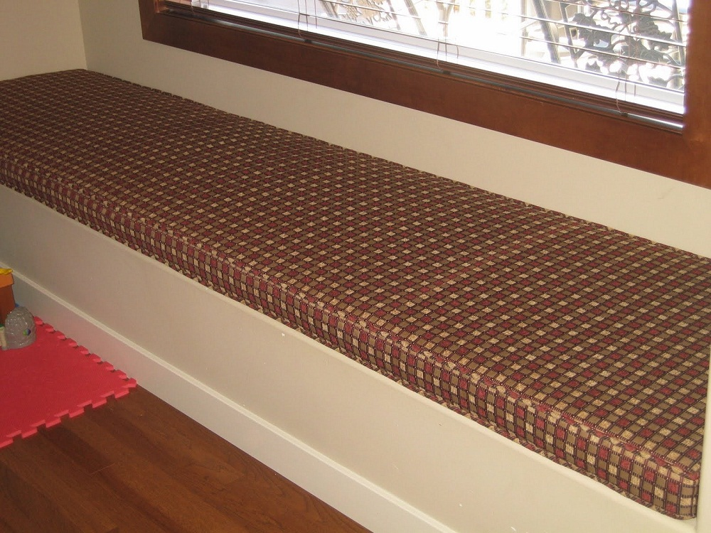 Image of: Custom Making A Bench Cushion