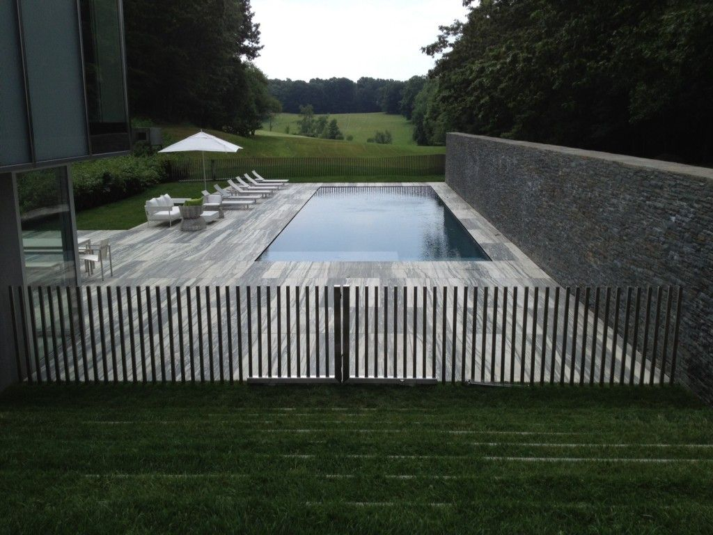 Custom Metal Pool Fence