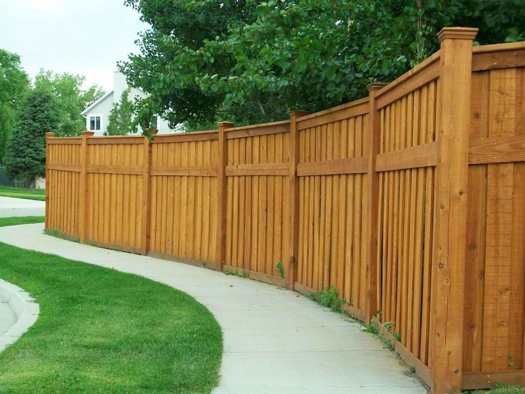 Picture of: Custom Wood Fence Styles