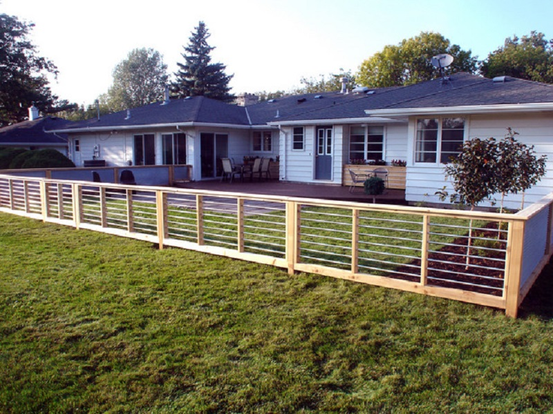 Picture of: Cute Home Fence Ideas