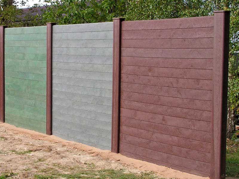 Picture of: Cute Plastic Fence Panels