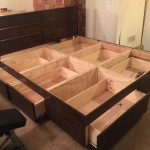 DIY Bed Frame with Storage with Drawer