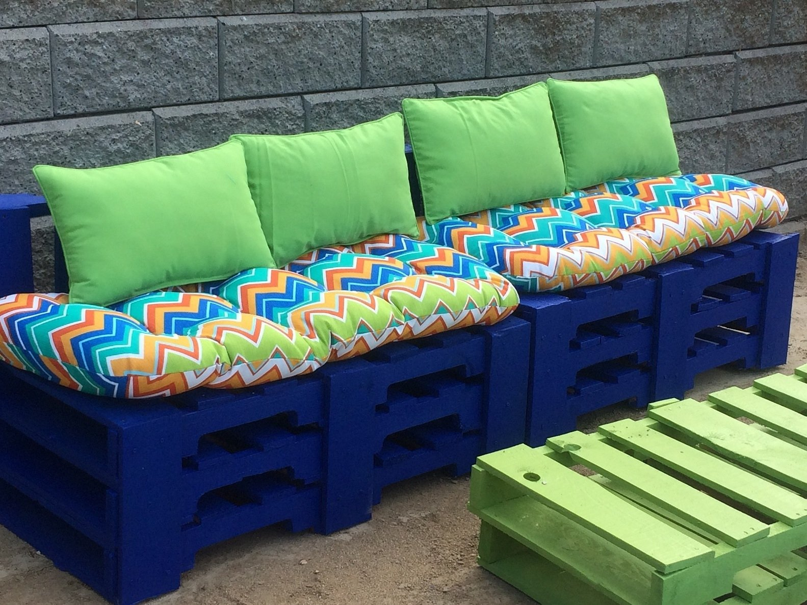 DIY Bench Cushion Outdoor