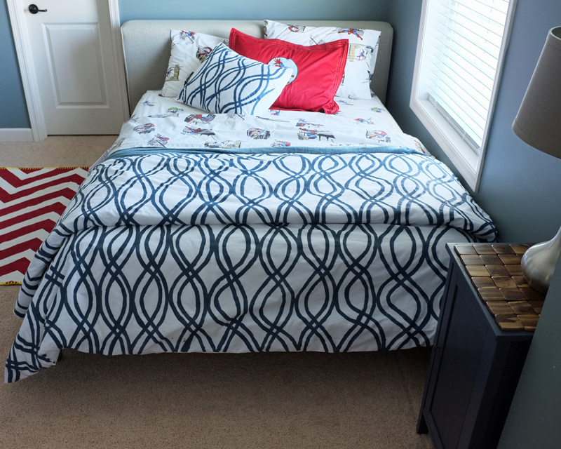 Image of: DIY Duvet Cover Style