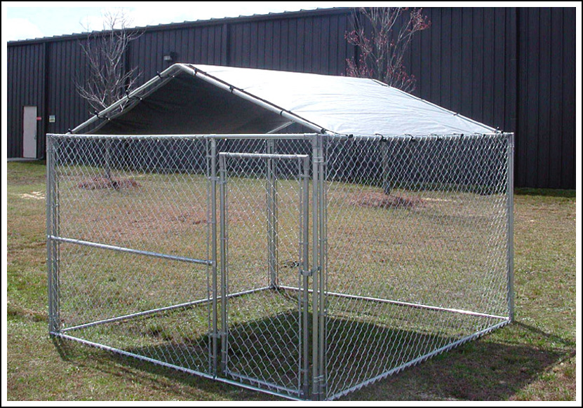 Picture of: DIY Large Dog Fence Ideas
