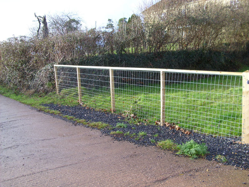 Picture of: DIY Large Dog Fence