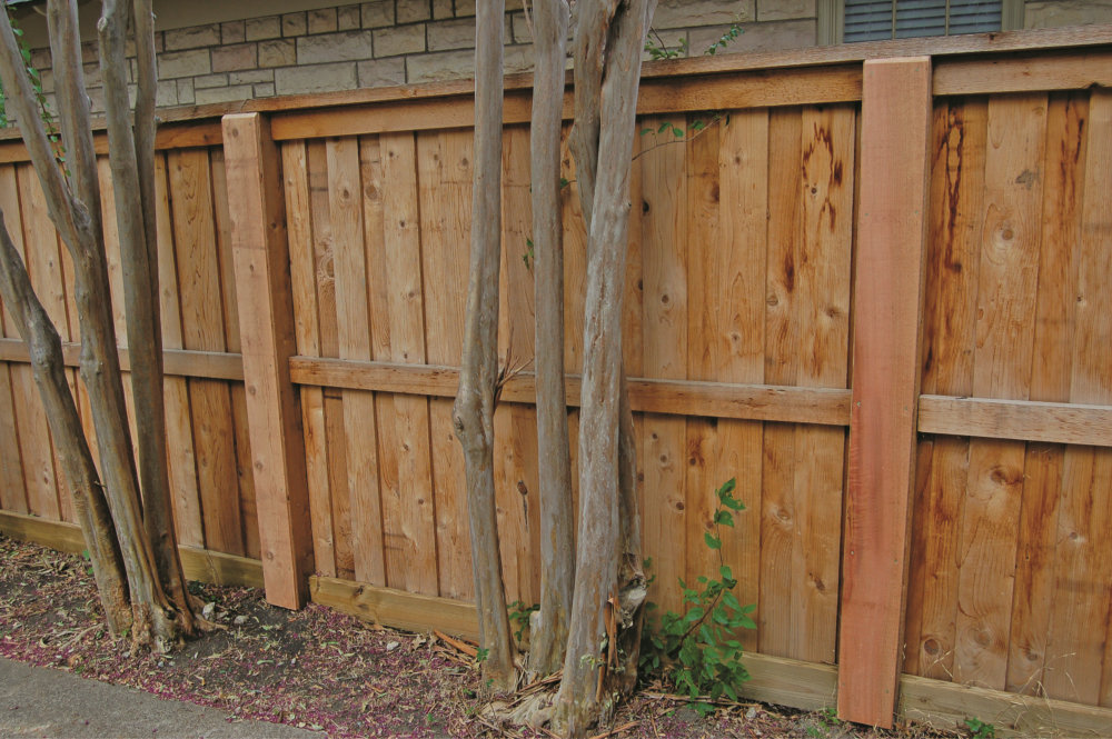 Picture of: DIY Metal Fence Posts for Wood Fence