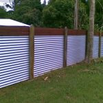 DIY Metal Privacy Fence Panels