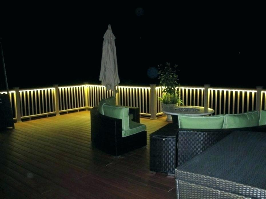 Picture of: Deck Outdoor Led Strip Lighting