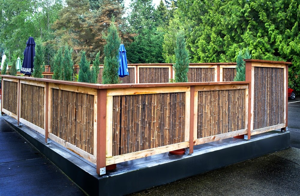Picture of: Deck Privacy Fence Ideas