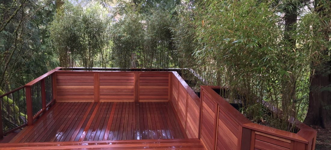 Deck Wood Fence Pictures