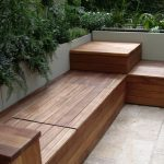 Deck Wooden Garden Bench