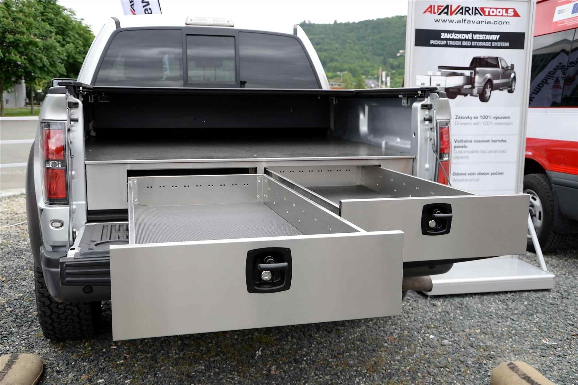 Decked Truck Bed Storage Design