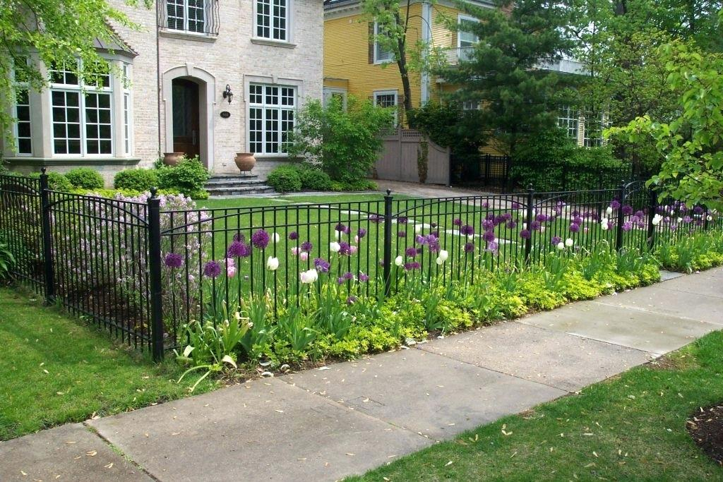 Decorative Fence Ideas Black