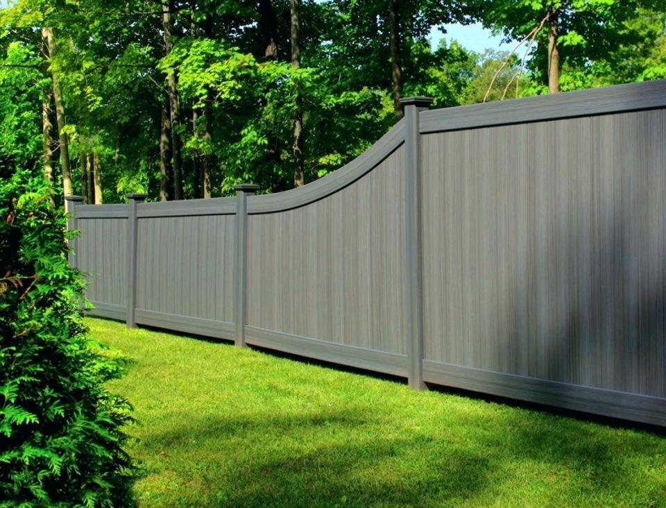 Picture of: Decorative Fence Ideas Gray