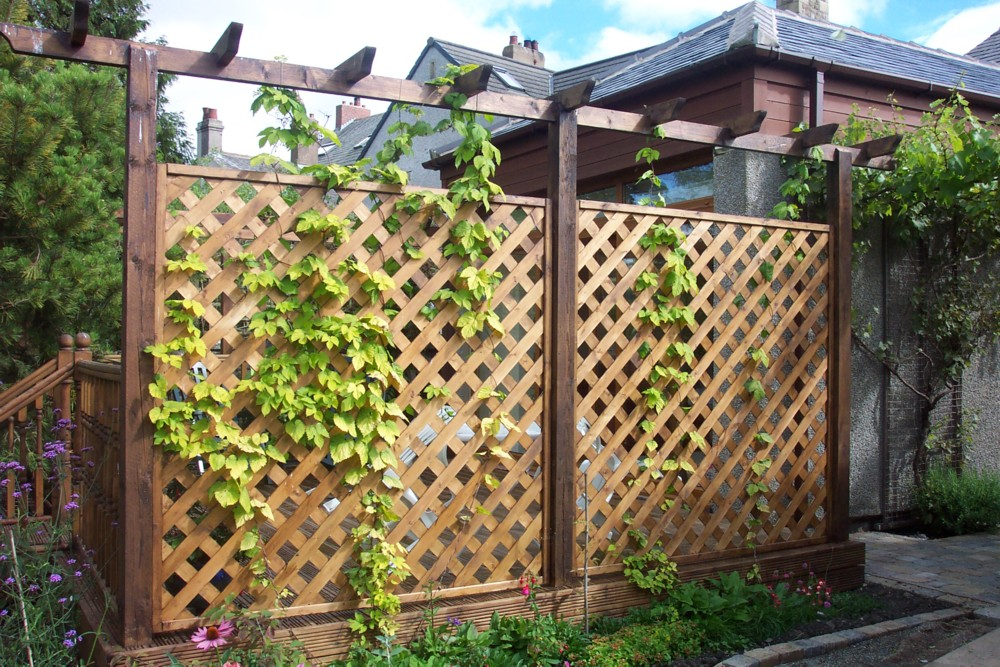 Picture of: Decorative Fence Ideas Panel