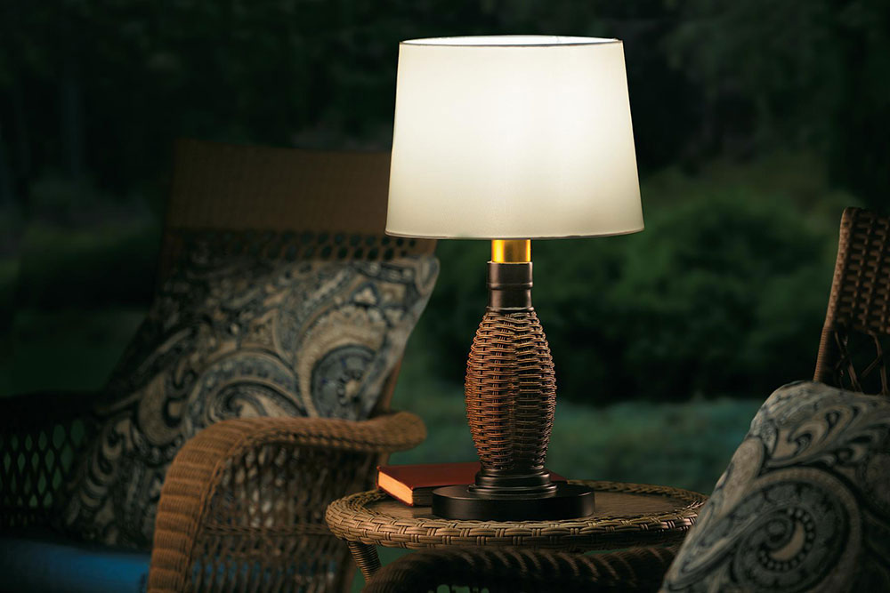 Picture of: Decorative Outdoor Table Lamps