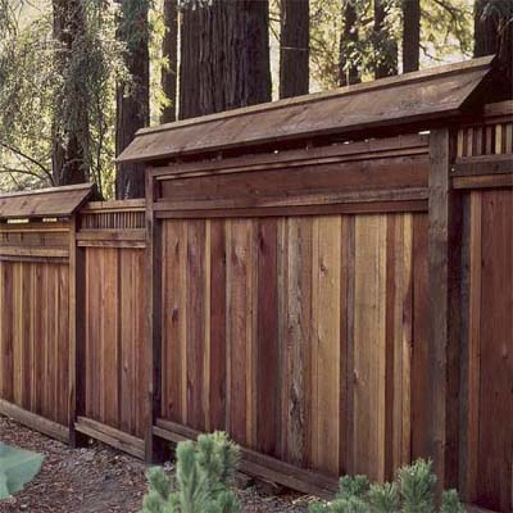 Picture of: Decorative Wooden Fence Ideas
