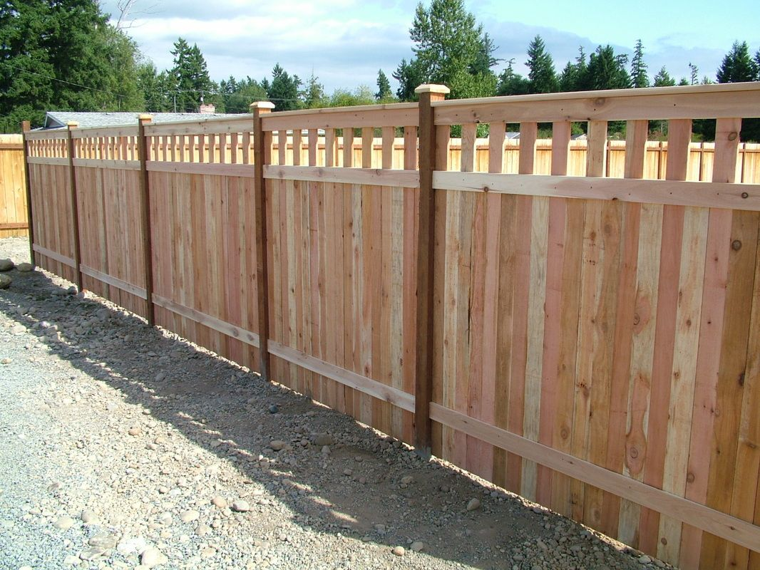 Picture of: Design Wood Fence Styles