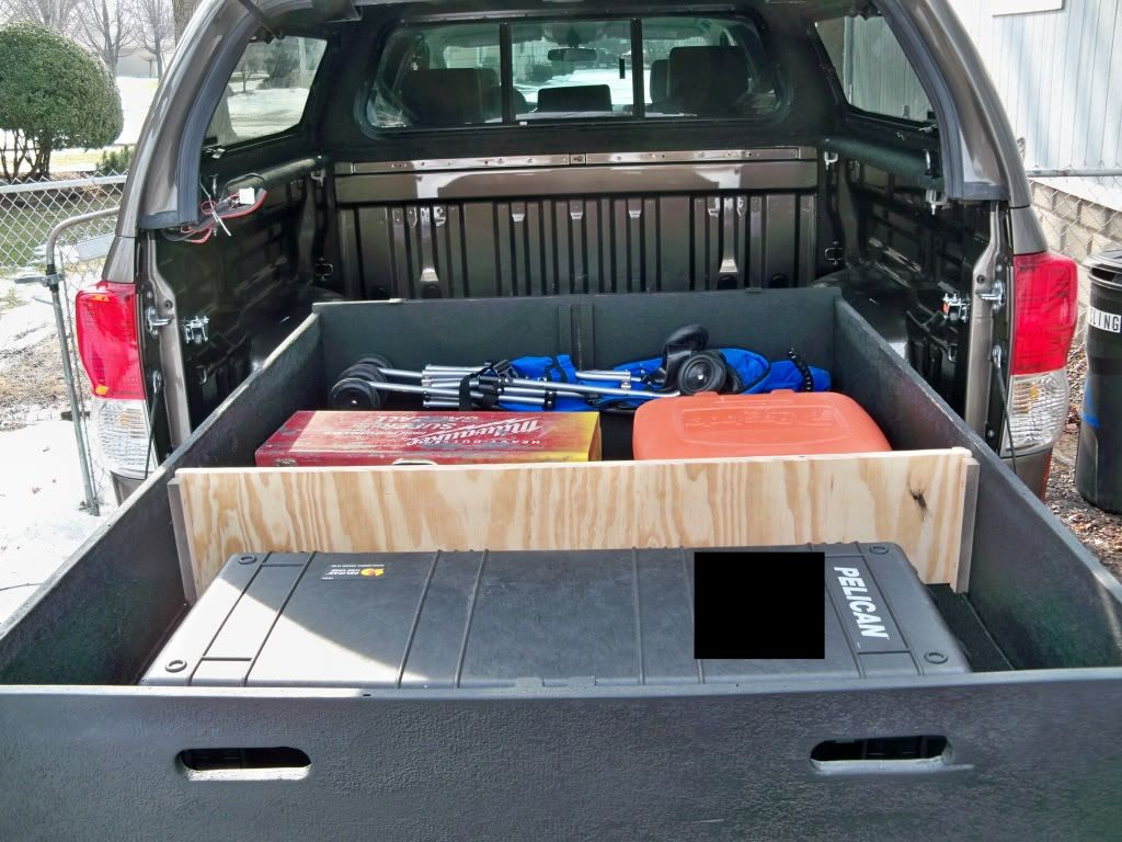 Diy Waterproof Truck Bed Storage