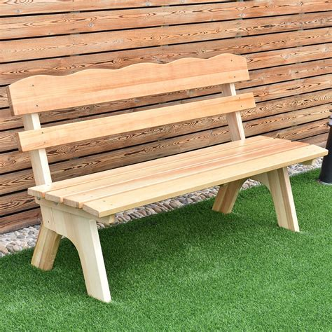 Picture of: Easy Wooden Bench Seat