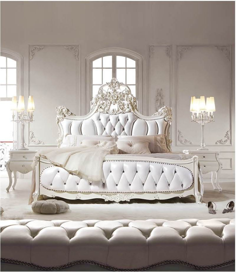 Image of: Eclectic French Bedroom Set