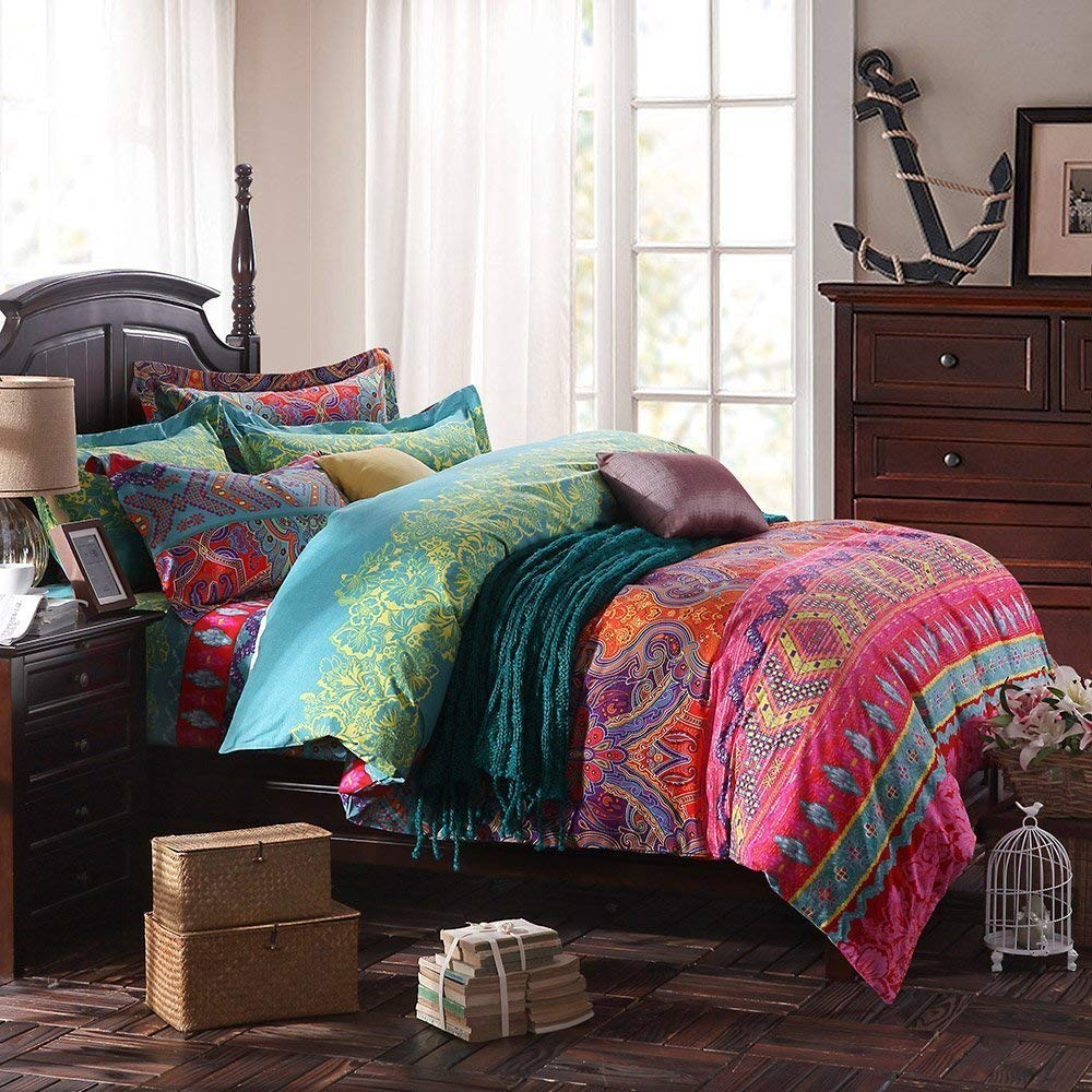 Image of: Ethnic Bohemian Comforter Sets