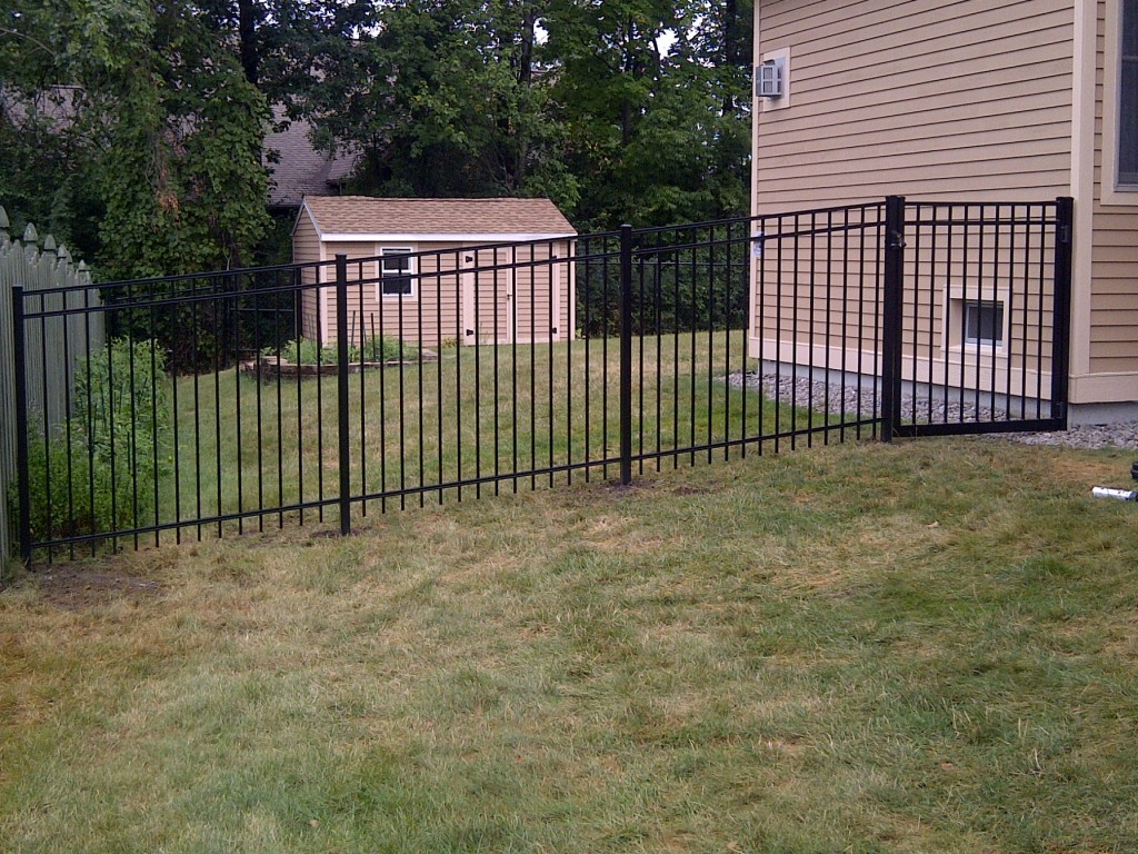 Image of: Fence Metal Deer Fencing