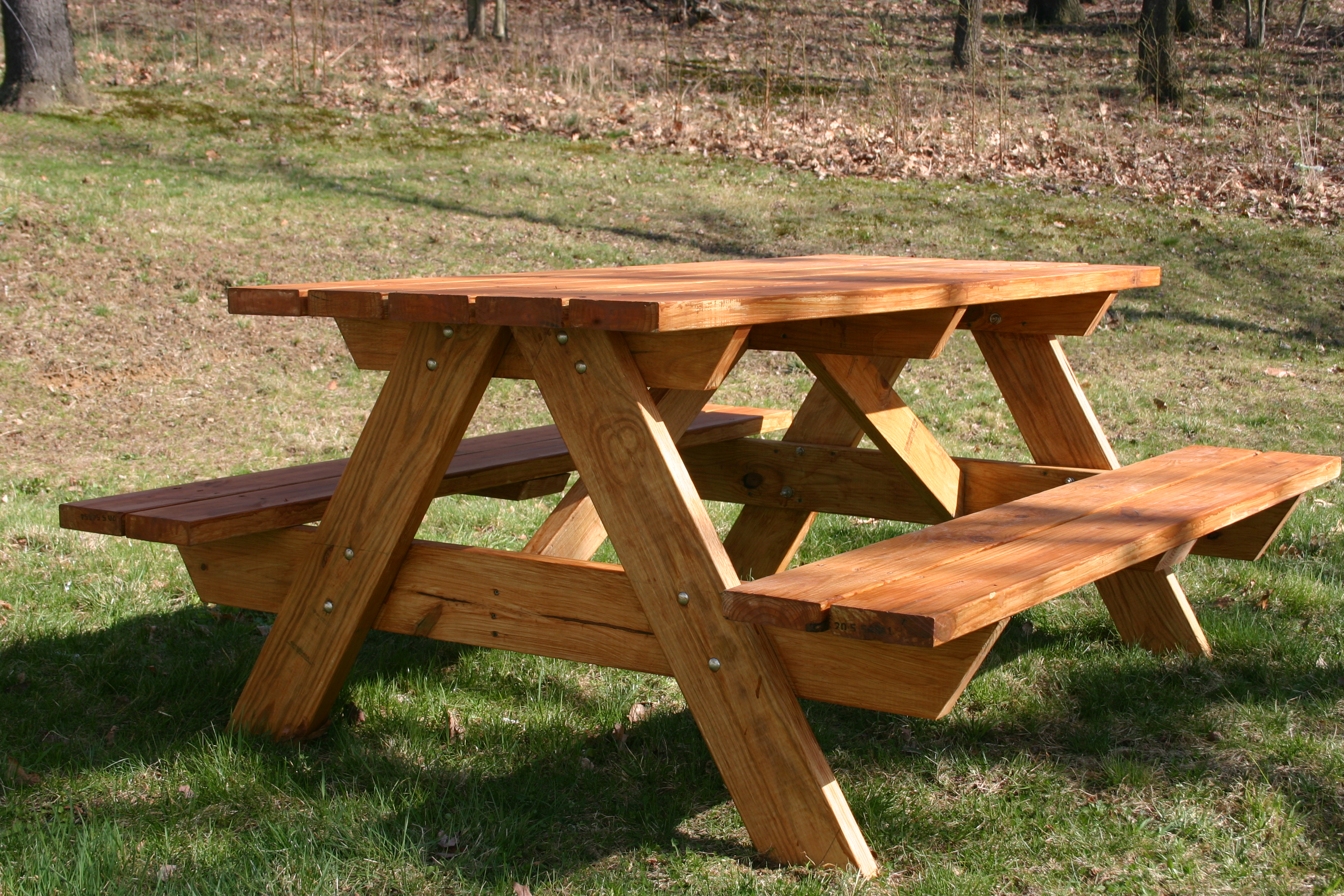 Picture of: Folding Wooden Bench Table