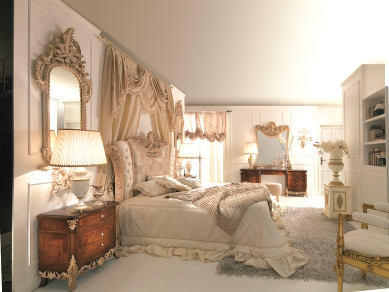 Image of: French Bedroom Style