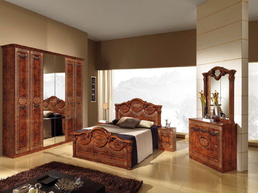 Furniture Italian Bedroom Set