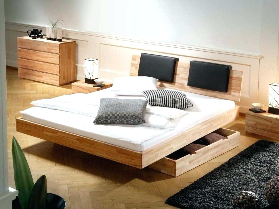 Image of: Good DIY Bed Frame with Storage