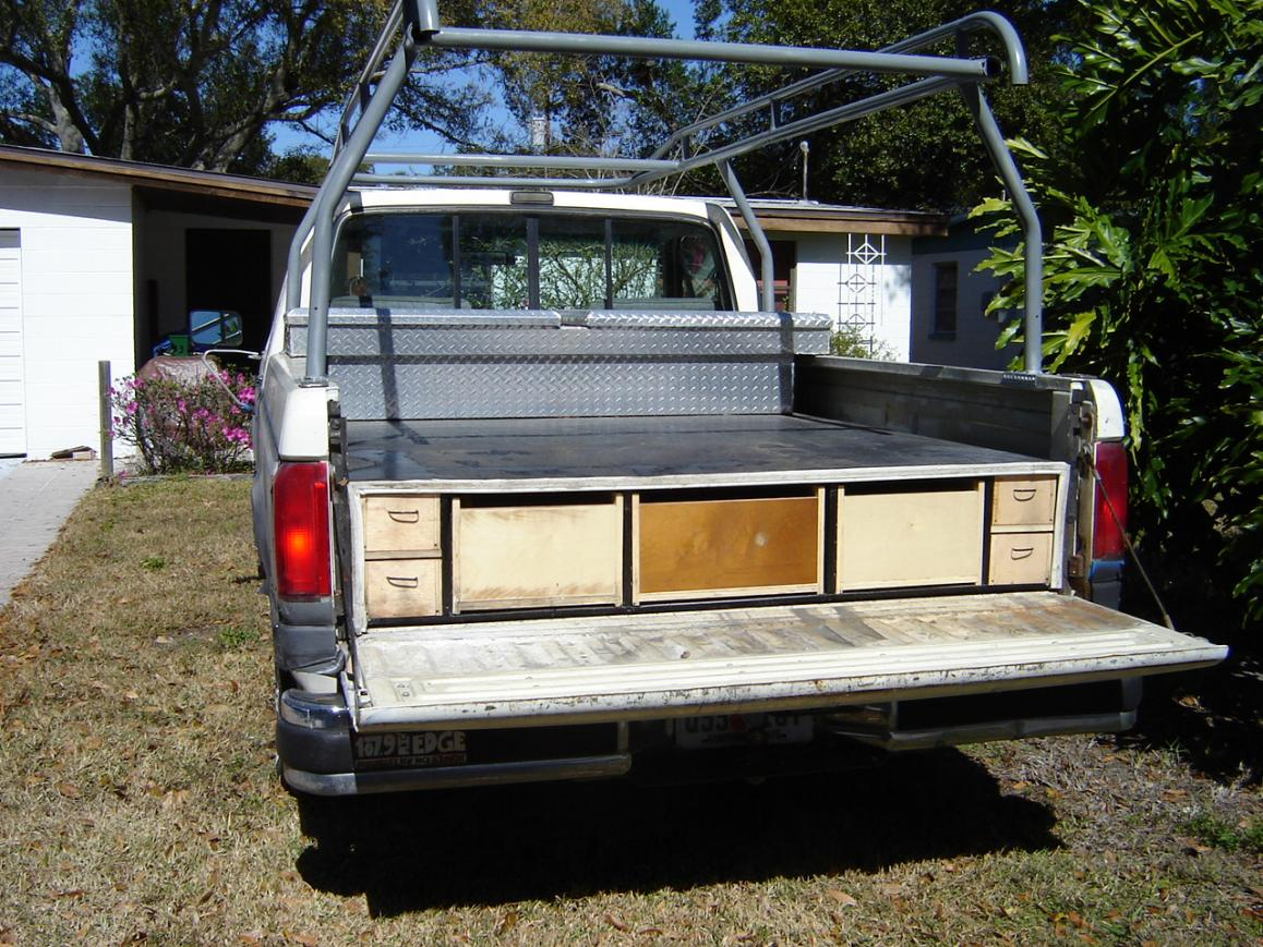 Good Decked Truck Bed Storage