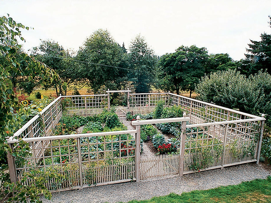 Picture of: Good Garden Fence Ideas